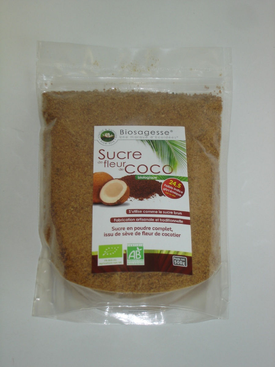 Sucre coco complet 500g